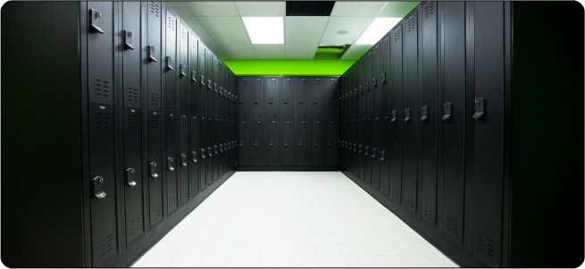 Lockers room lockers